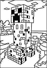 minecraft creeper coloring page coloring pages printable coloring pages in free printable minecraft creeper coloring pages