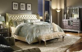 antique bedroom decor. Antique Bedroom With Mirrored Furniture Decor