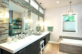 light hanging pendant lights over bathroom vanity prodigious startling lighting home design ideas placement of