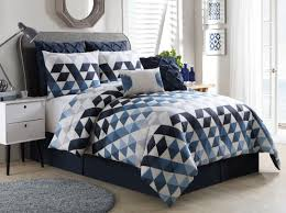 blue and c bedding sets gray