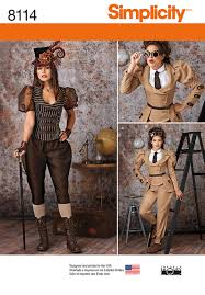 Steampunk Patterns Magnificent Simplicity Sewing Pattern Misses Steampunk Costumes 48 EBay