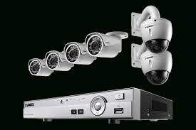 Home Security System With 2 Hd 1080P Security Cameras Featuring . for Canadian  Home Security