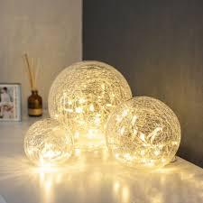 Disco Ball Light Tesco 3 Clear Glass Fairy Light Orbs Led Fairy Lights Fairy