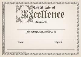 30 Certificate Of Excellence Award Certificates For School Teachers 250gsm A5 Silk Finish Card
