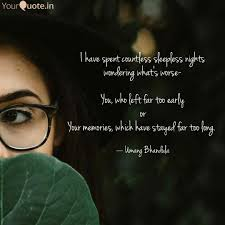 Best Sleepless Quotes Status Shayari Poetry Thoughts Yourquote