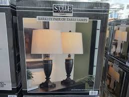 medium size of stylecraft 3 light floor lamp costco awesome glass table lamp costco best inspiration