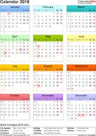 november 2019 calendar united kingdom weareeachother coloring