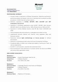 ... Resume format Mba 1 Year Experience Unique 1 Year Experienced software  Developer Resume Sample Eliolera ...