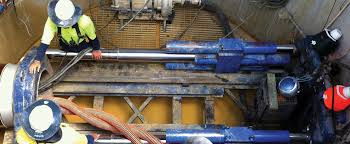 microtunneling. microtunneling the gnangara collection project using trenchless techology by dm civil contractors perth
