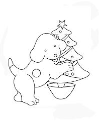 Kleurplaat Puk Kerst
