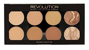 makeup revolution all about bronze 8 bronzing powders contouring palette