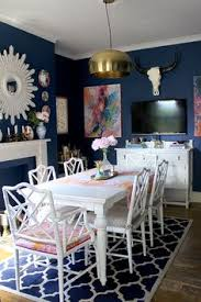 skull bliss and some more changes to the dining room chippendale chairspink