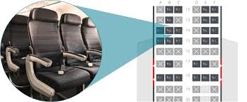 Air Canada Seating Chart With Seat Numbers Air Canada Preferred Seats