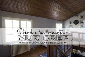 Peindre Mur Crepi Interieur Peinture Rouleau Design De Maison Repeindre Un