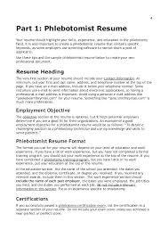 Phlebotomist Resume Examples Custom Free Phlebotomy Resume Examples Example Sample Fresh Professional