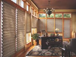 tracy model home office. Vignette® Modern Roman Shades In A Home Office, Dark Fabric - Buy At Rooms Tracy Model Office
