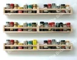 Wooden Spice Rack Wall Mount Custom Spice Racks For Walls Wall Spice Rack Spice Rack Woodman Spice Rack