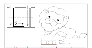 Free printable worksheet letter L for your child to learn and ...
