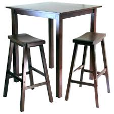 Bar Table With Stools Hack Pub Set Laptop Wooden Tables And