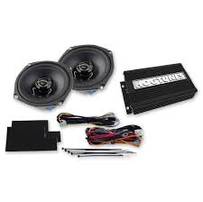 """hogtunes """"rev 200 aa"""" amp and speaker kit 162 182 j p cycles select model × ×"""