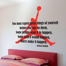 plush design ideas basketball wall decor michael jordan typographic e air silhouette sticker stickers art hoop