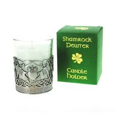 Small Picture Shamrock Gift Co Pewter Candle Holder claddagh eBay