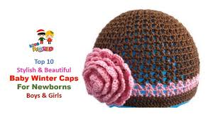 Winter Hat Designs Awesome Latest Baby Winter Hats Stylish New Kids Woolen
