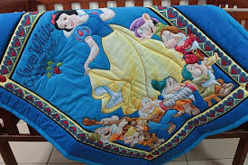 Baby Disney Snow White & Seven Dwarfs & Pillow Case & Quilt Baby Disney Snow White & Seven Dwarfs & Pillow Case Adamdwight.com