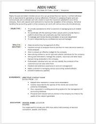 resume for account manager accounting manager resume contents layouts templates resume