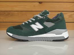 new balance mens shoes. m998bb hunter green/grey/suede the new balance mens shoe shoes