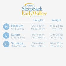 Halo Fleece Sleepsack Size Chart Get Here Amazon Halo Sleepsack Medium Baby Sleek