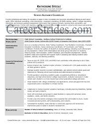 Career Advisor Resume Example school counselor resume samples Resume Samples 5