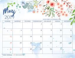 May Blank Calendars Blank May 2019 Calendar Printable On We Heart It
