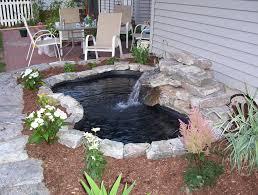diy water garden and koi pond