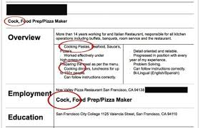 Funny Resume Awesome 6623 The 24 Best Resumes Any Company Has Ever Received