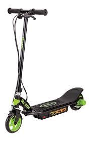 Razor Power Core 90 <b>Electric</b> Powered <b>Scooter</b>- Black/ Green ...