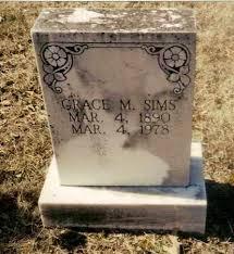 SIMS, GRACE MARGARET - Izard County, Arkansas | GRACE MARGARET SIMS -  Arkansas Gravestone Photos