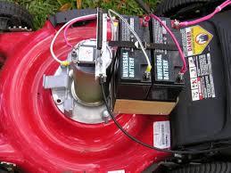 electric lawn mower motor. i built a \ electric lawn mower motor r