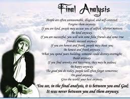 Mother Teresa Quotes Love Anyway Stunning Love Anyway Quote From Mother Teresa Greatest Fresh Mother Teresa