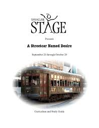 a streetcar d desire by syracuse stage issuu