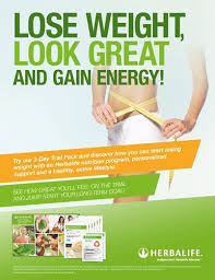 lose weight look great gain energy flyer