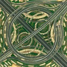 Small Picture The Dubai Interchange Picture Benjamin GrantGoogle Earth