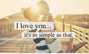 Simple I Love You Quotes Cute I love you simple as that 53