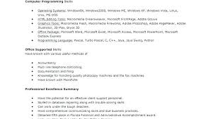 Ceeeed New Picture Computer Skills List Resume Importance Of A Resume