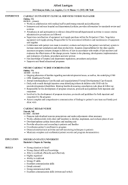 Cardiac Nurse Resume Sample sample cardiac nurse resume Eczasolinfco 2