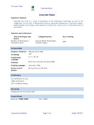 Upload Resume In Cognizant