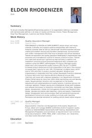 qa manager resume sample 25052017 quality assurance resume example