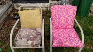 outdoor seat cushions free sewing tutorials