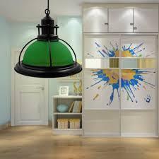 Us 6019 20 Offvintage Groen Glas Lampenkap Edison Hanglamp Lichten Retro Opknoping Lamp Armatuur Industriële Verlichting Lamparas Voor Thuis