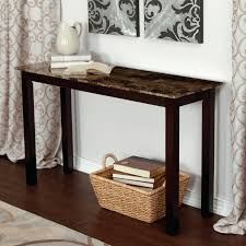 sofa console tables palazzo faux marble table pottery barn tanner brilliant with furniture for couch etc drawers and doors dining z gallerie rugs